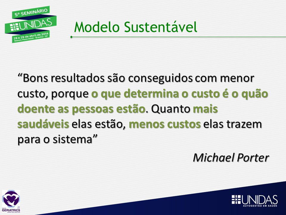 Modelo Sustentável
