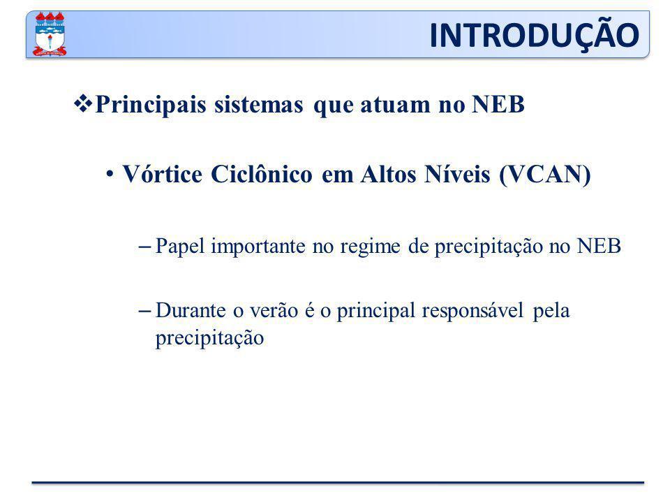INTRODUÇÃO Principais sistemas que atuam no NEB