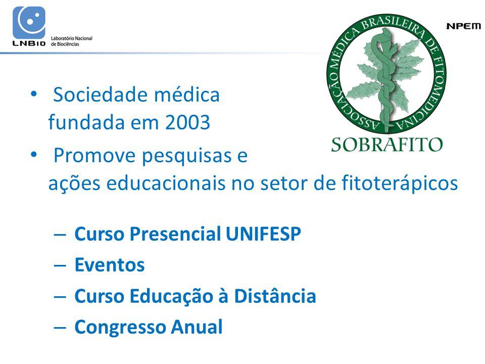 Sociedade médica fundada em 2003