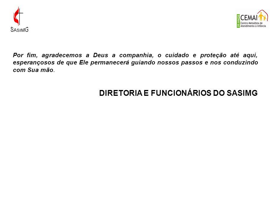 DIRETORIA E FUNCIONÁRIOS DO SASIMG