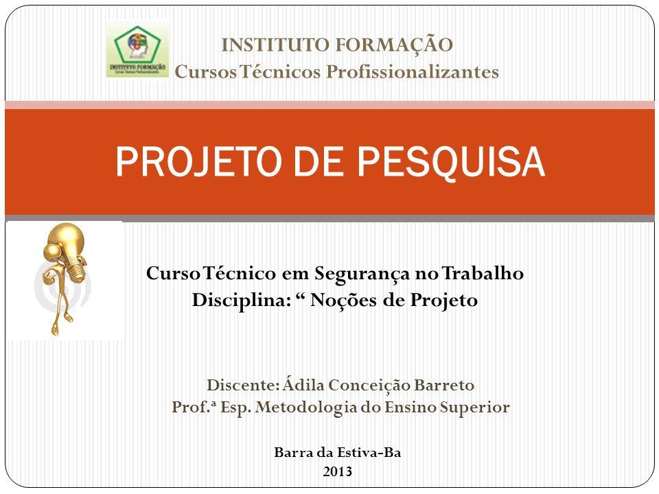 INSTITUTO FORMAÇÃO Cursos Técnicos Profissionalizantes