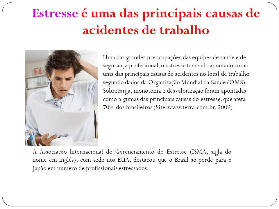 Estresse é uma das principais causas de acidentes de trabalho