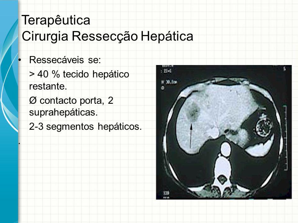 Terapêutica Cirurgia Ressecção Hepática