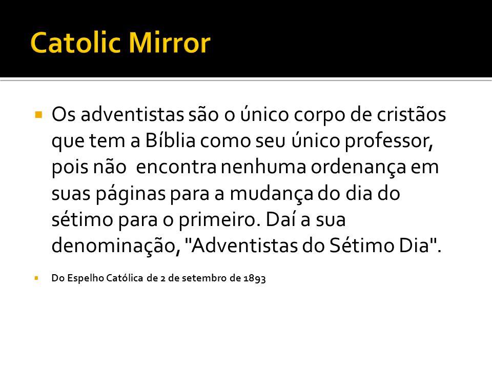 Catolic Mirror