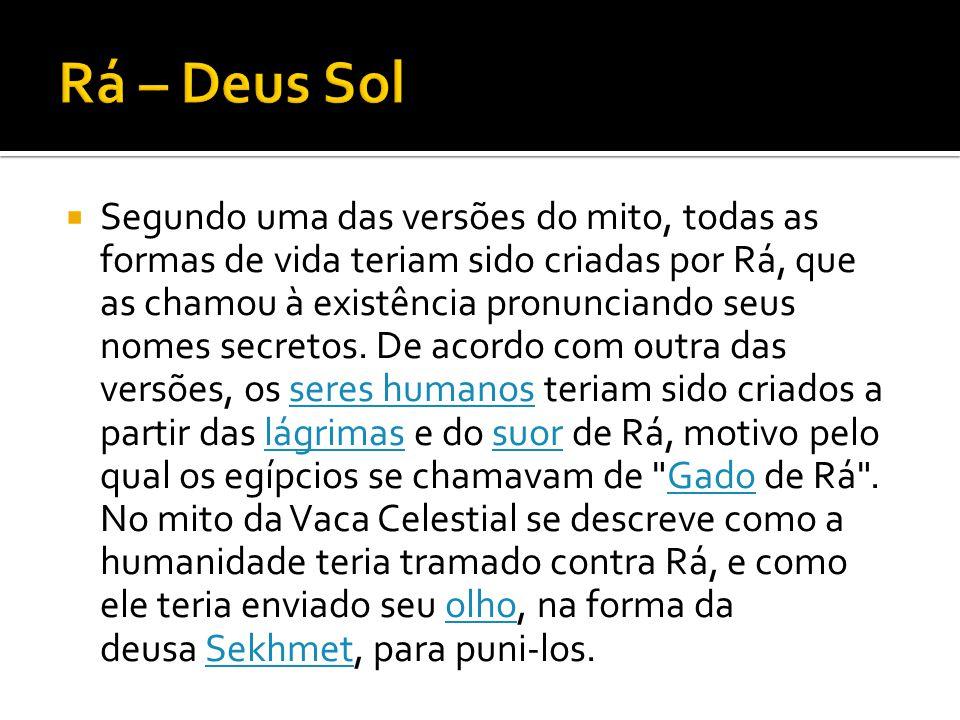 Rá – Deus Sol