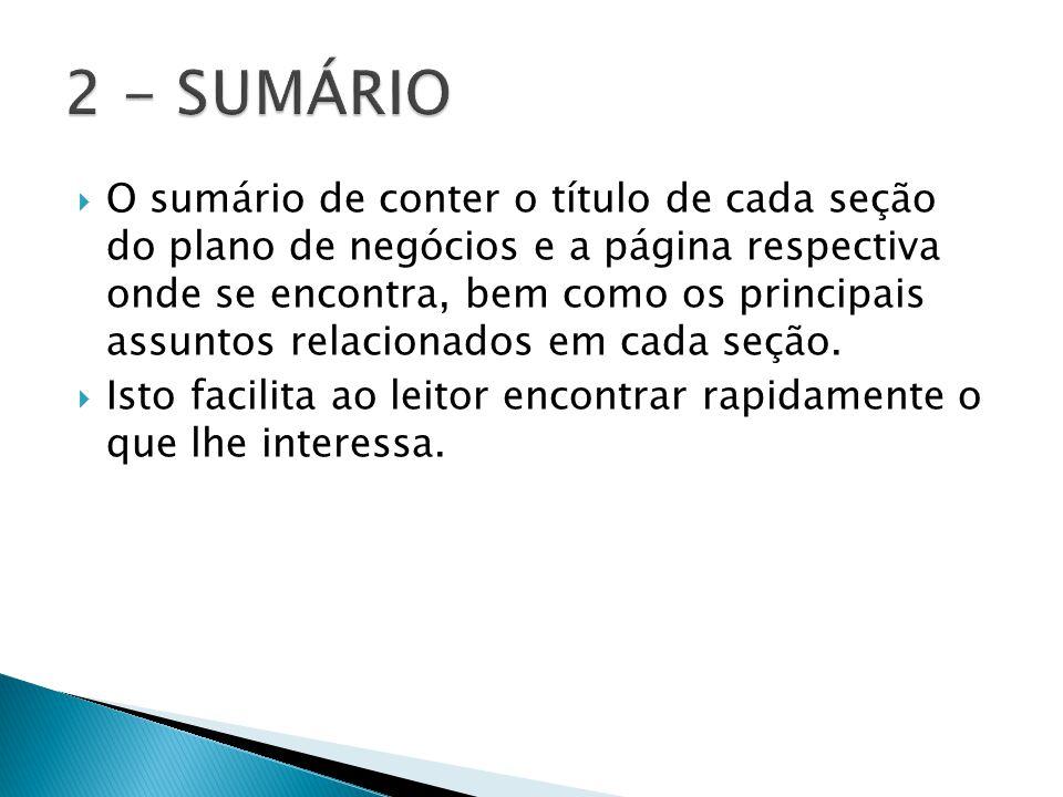 2 - SUMÁRIO