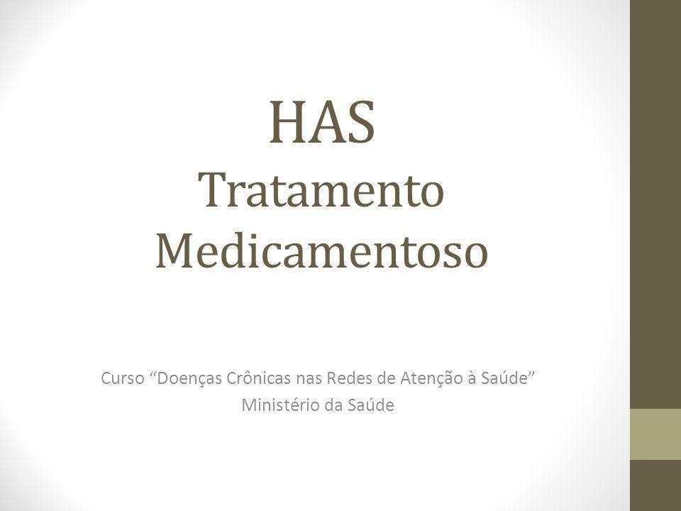 HAS Tratamento Medicamentoso