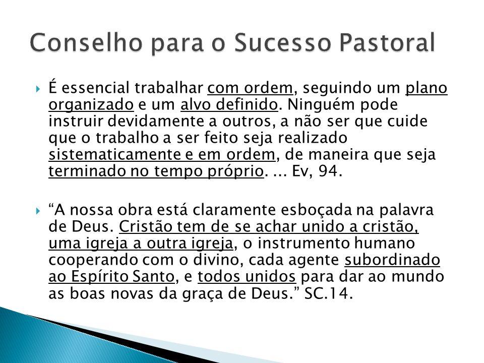 Conselho para o Sucesso Pastoral