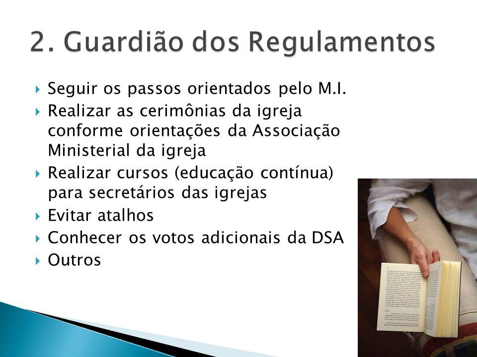 2. Guardião dos Regulamentos