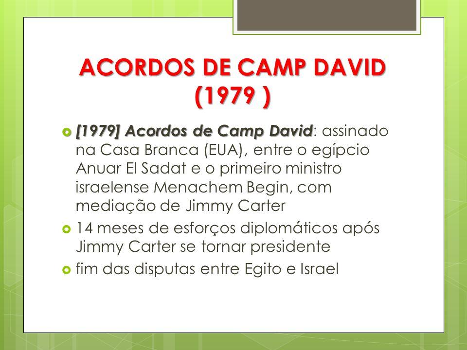 ACORDOS DE CAMP DAVID (1979 )