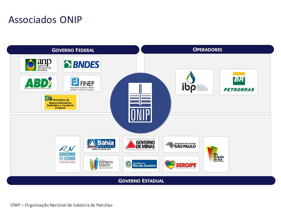 Associados ONIP 5 Governo Federal Operadores Governo Estadual
