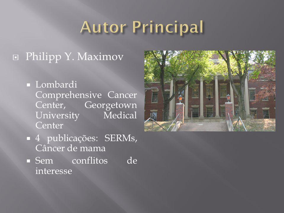 Autor Principal Philipp Y. Maximov