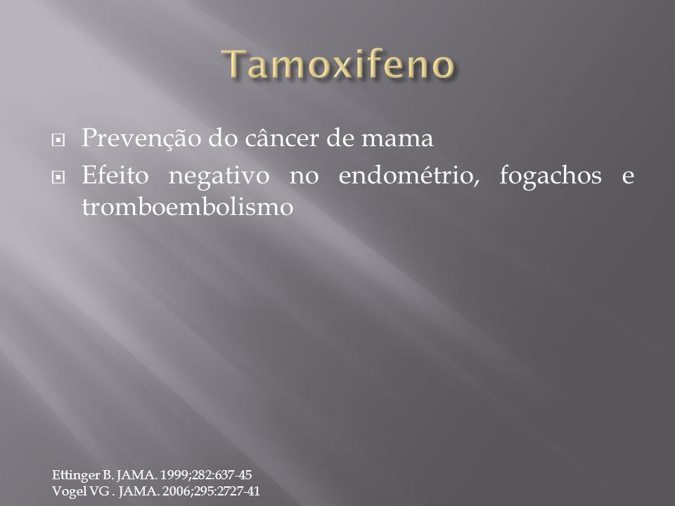 Tamoxifeno Prevenção do câncer de mama