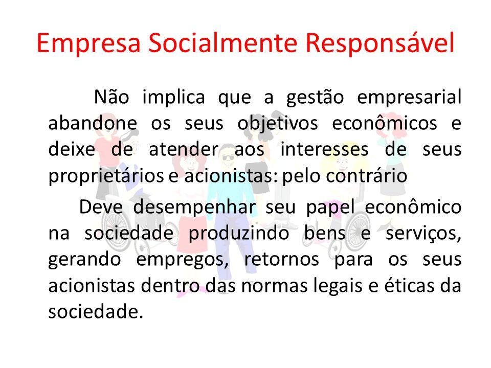 Empresa Socialmente Responsável