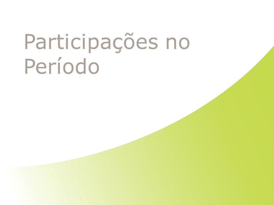 Participações no Período