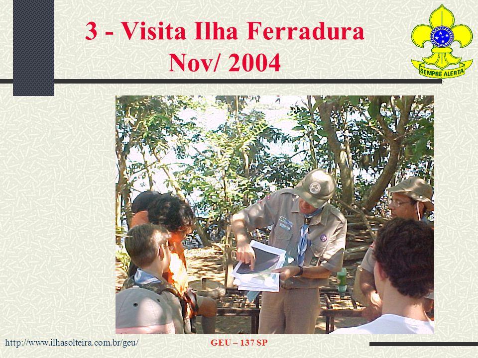 3 - Visita Ilha Ferradura Nov/ 2004