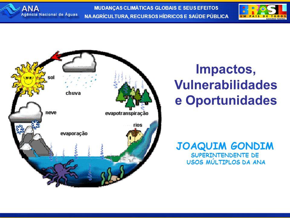 Impactos, Vulnerabilidades e Oportunidades