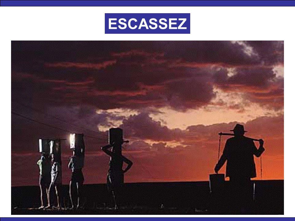 ESCASSEZ