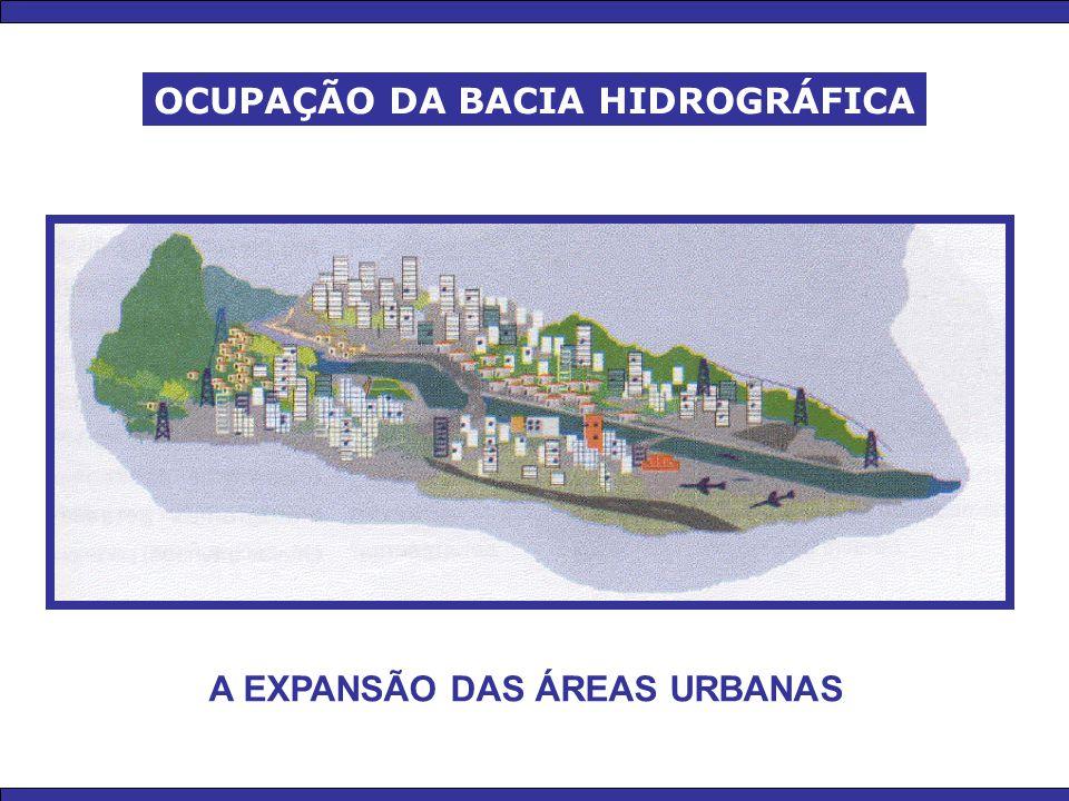 OCUPAÇÃO DA BACIA HIDROGRÁFICA