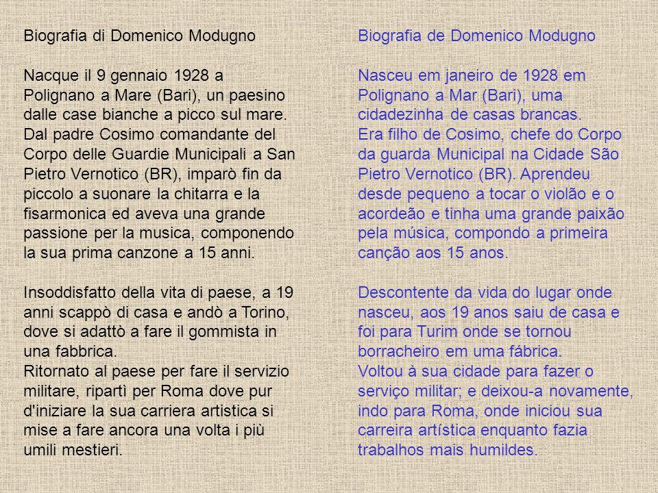 Biografia di Domenico Modugno