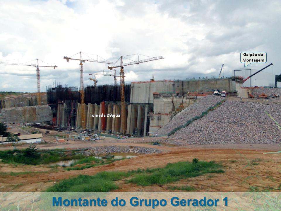 Montante do Grupo Gerador 1