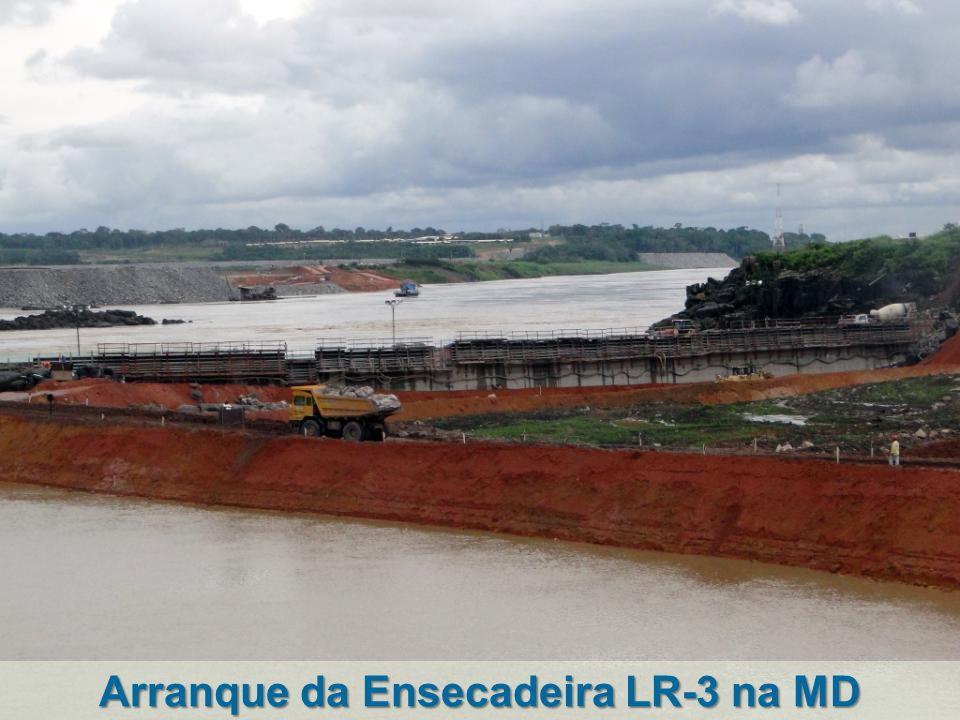 Arranque da Ensecadeira LR-3 na MD
