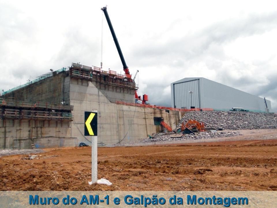 Muro do AM-1 e Galpão da Montagem