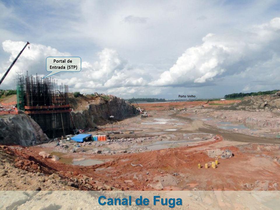 Portal de Entrada (STP) Porto Velho Canal de Fuga