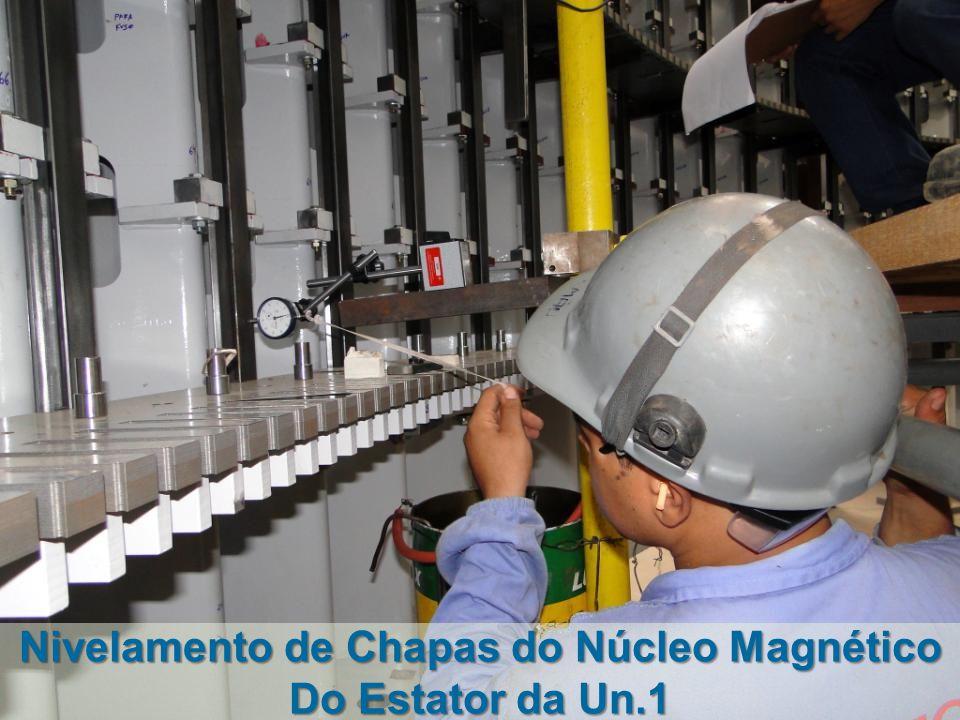 Nivelamento de Chapas do Núcleo Magnético