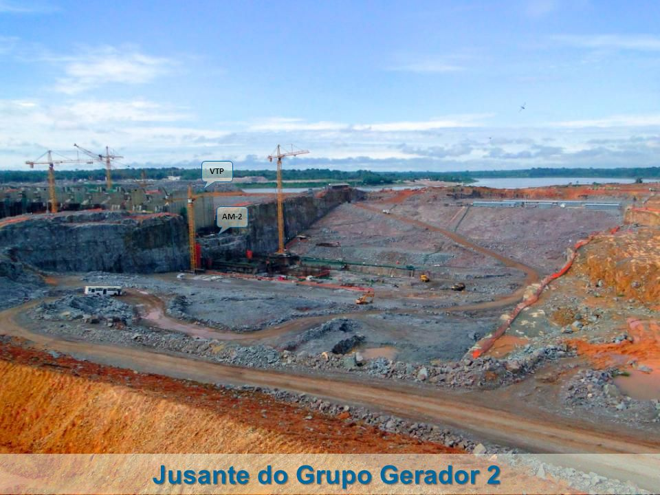 Jusante do Grupo Gerador 2