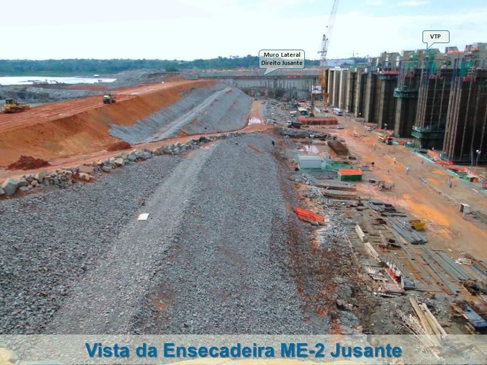 Vista da Ensecadeira ME-2 Jusante