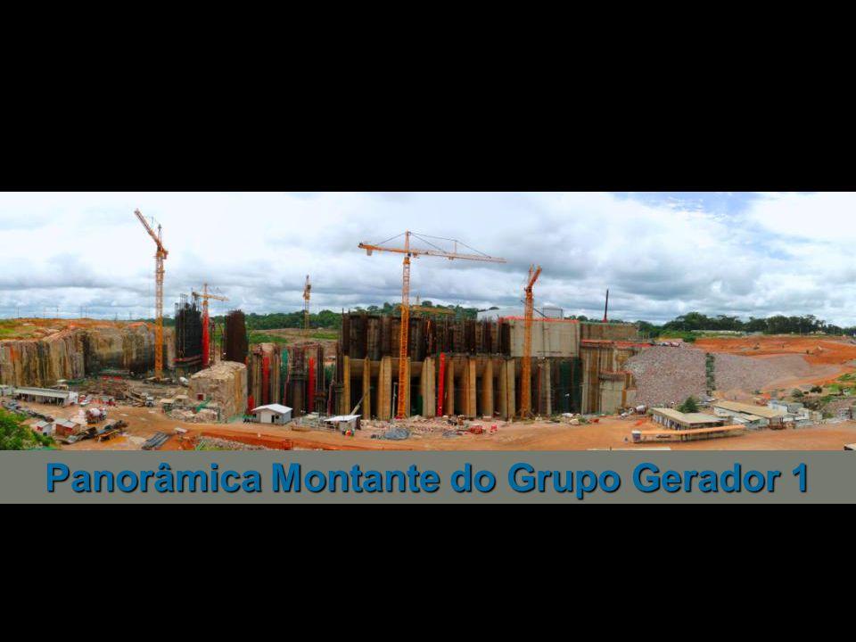 Panorâmica Montante do Grupo Gerador 1