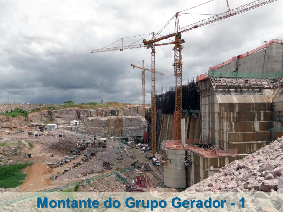 Montante do Grupo Gerador - 1