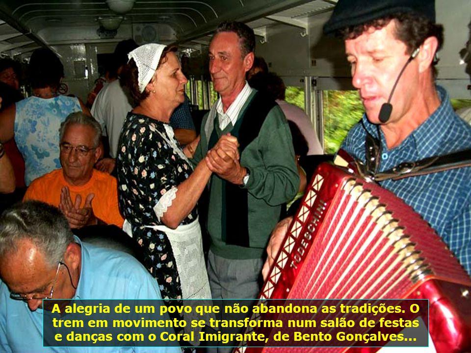 A alegria de um povo que não abandona as tradições