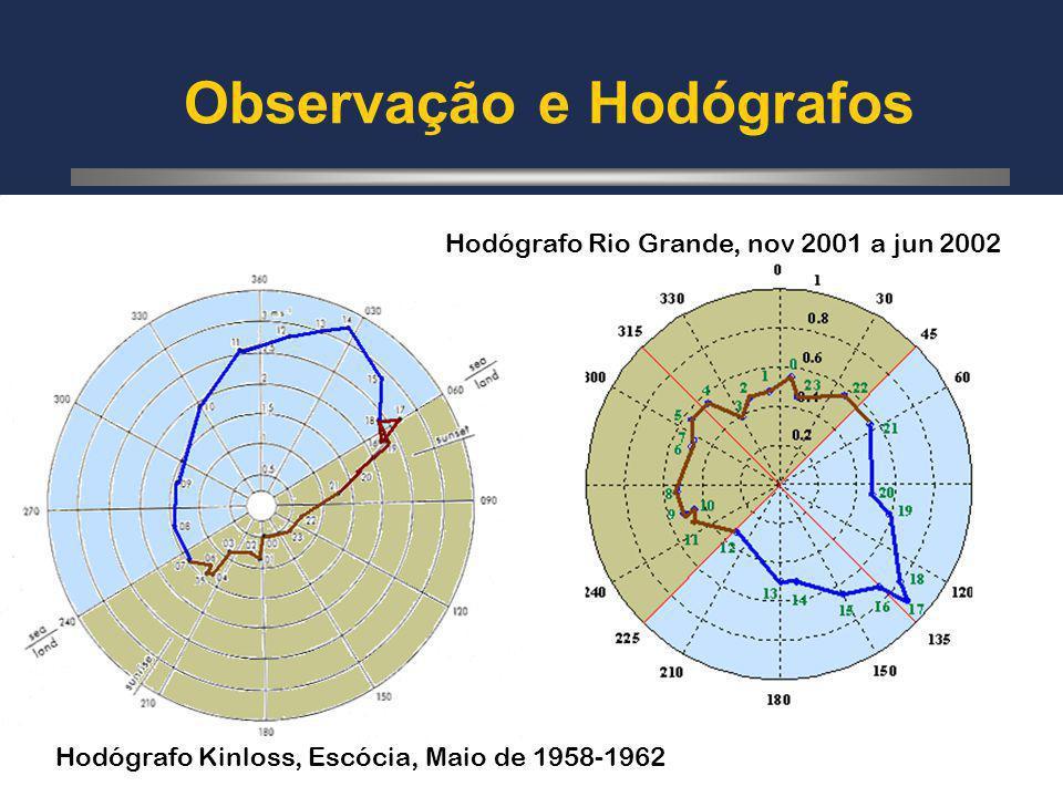 Observação e Hodógrafos