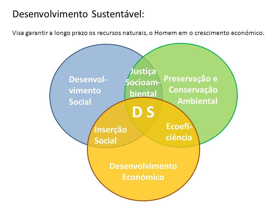 Justiça Socioam-biental Desenvolvimento Económico