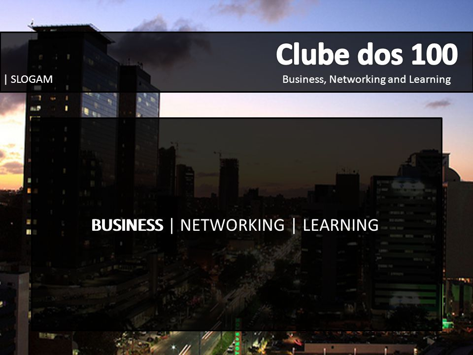 BUSINESS | NETWORKING | LEARNING