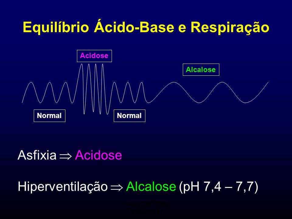 Equilíbrio Ácido-Base e Respiração