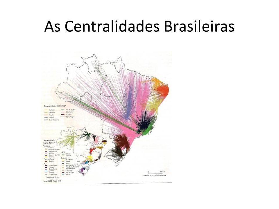 As Centralidades Brasileiras