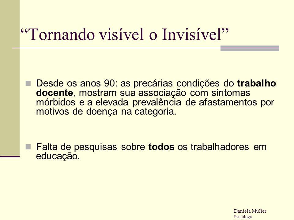 Tornando visível o Invisível
