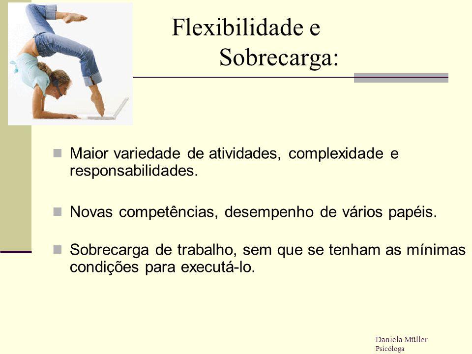 Flexibilidade e Sobrecarga: