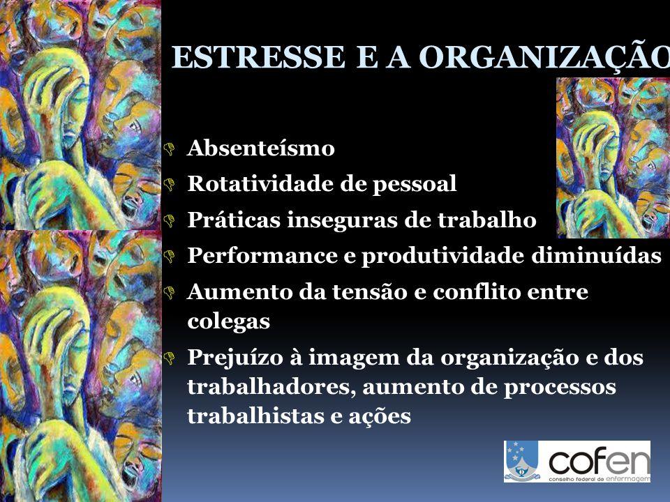 ESTRESSE E A ORGANIZAÇÃO
