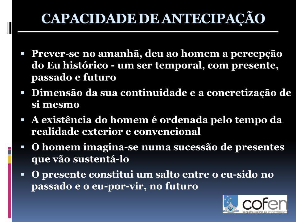 CAPACIDADE DE ANTECIPAÇÃO