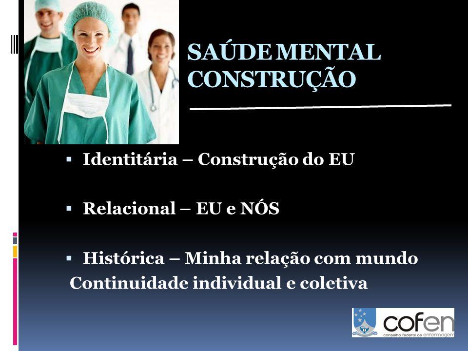 SAÚDE MENTAL CONSTRUÇÃO