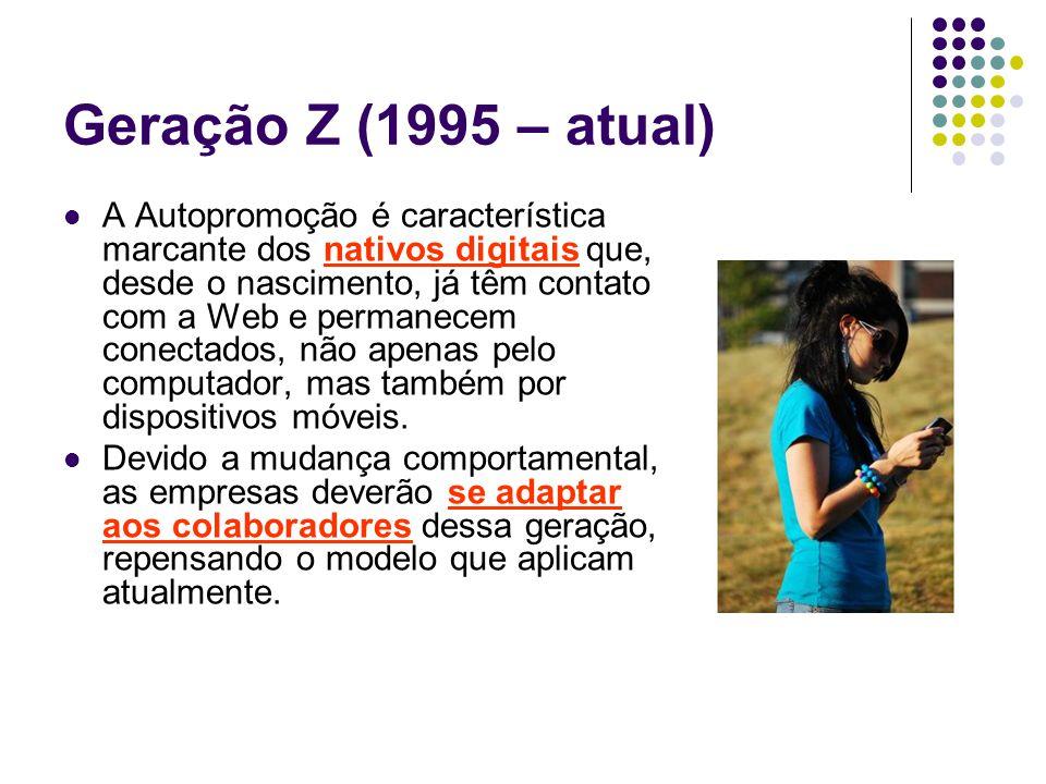 Geração Z (1995 – atual)