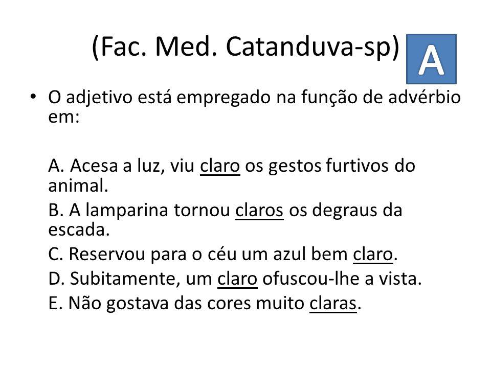 (Fac. Med. Catanduva-sp)