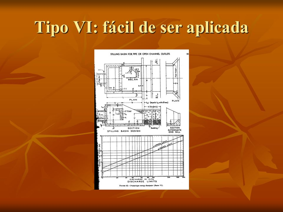 Tipo VI: fácil de ser aplicada