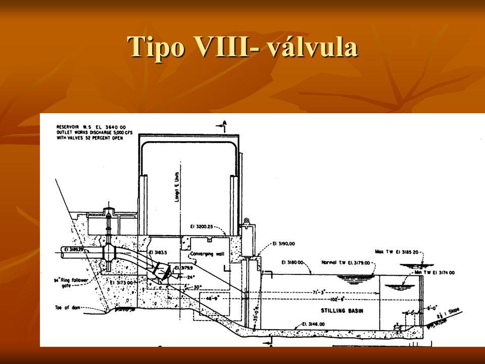 Tipo VIII- válvula