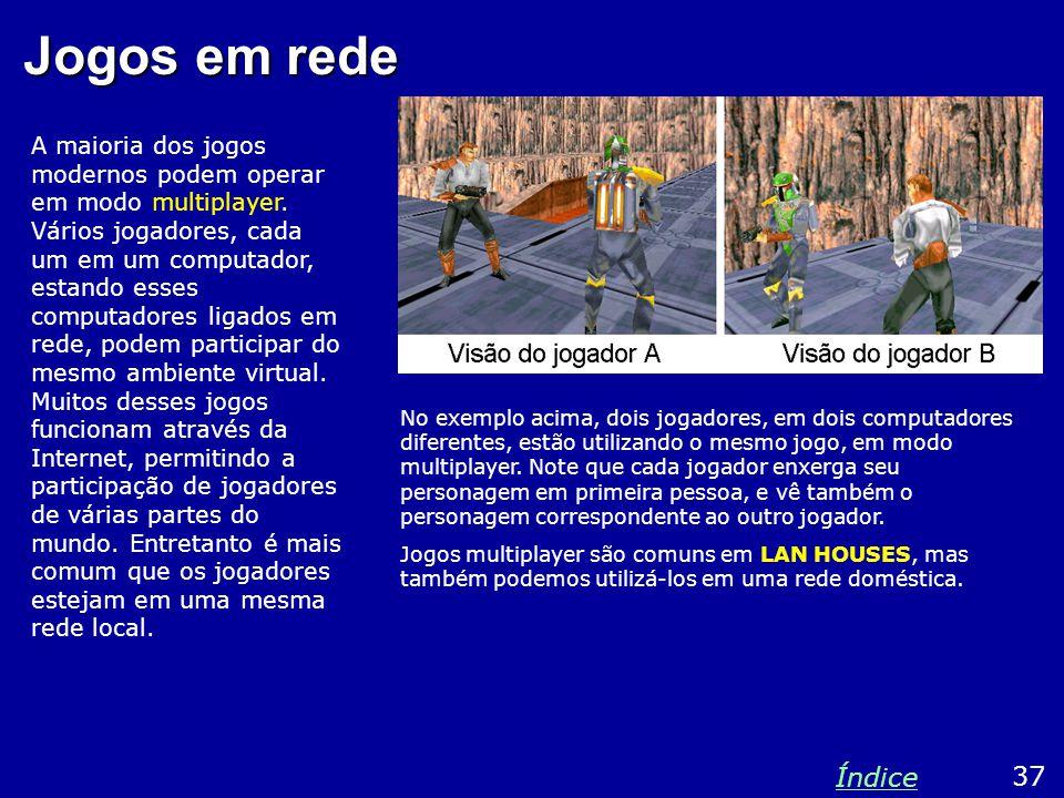 Jogos em rede