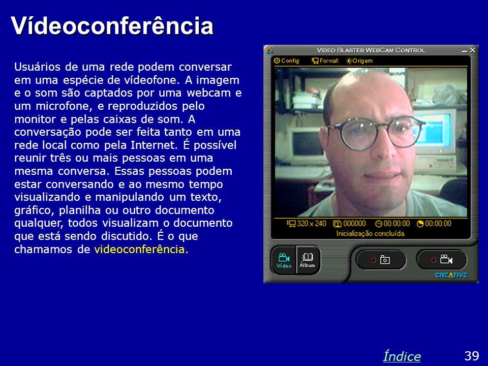 Vídeoconferência Índice 39